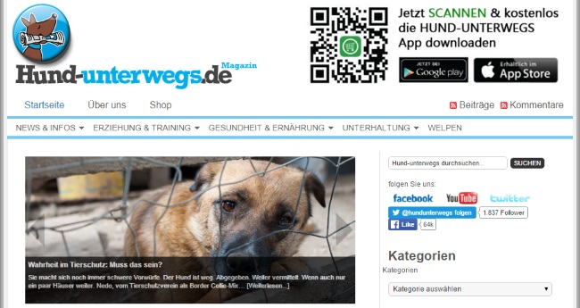 Hund Unterwegs Blog