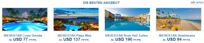 Iberostar Aktionsangebote
