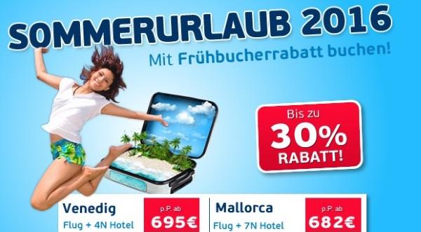 Logitravel Frühbucher-Rabatte
