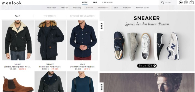 Menlook Onlineshop