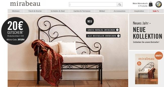 mirabeau online shop mirabeau online shop mirabeau shop dare to think mirabeau gutschein 29. Black Bedroom Furniture Sets. Home Design Ideas
