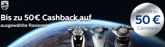 Philips Cashback Aktionen