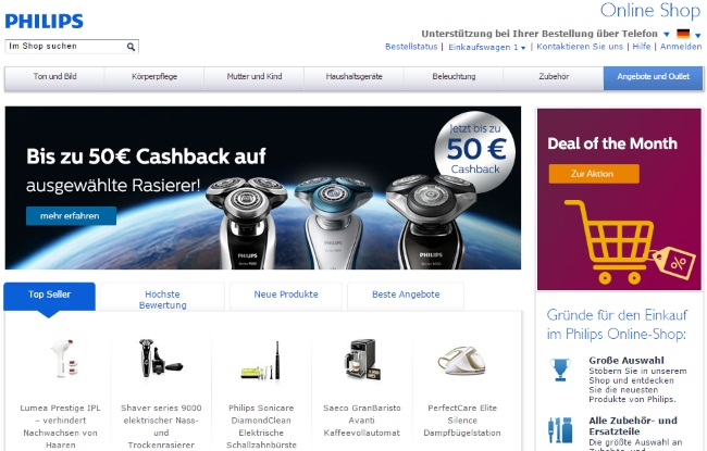 Philips Onlineshop