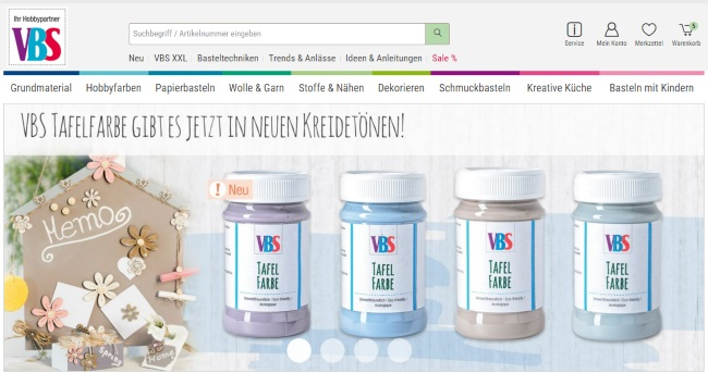 VBS-Hobby Onlineshop