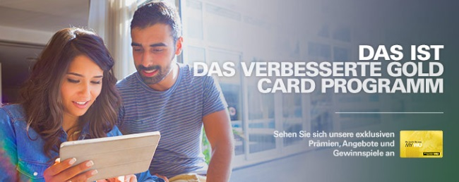 Western Union Gold Card Programm