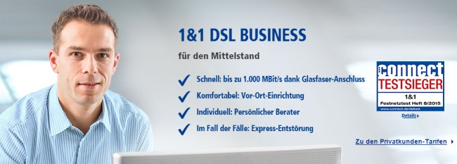 1-und-1 Business-Lösungen