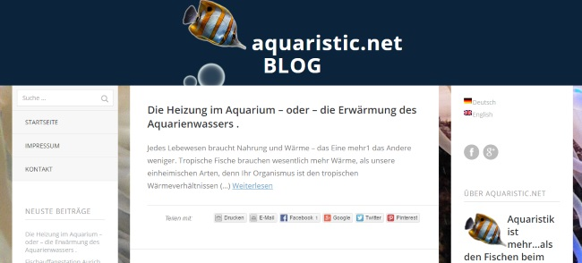 Aquaristic.net Blog