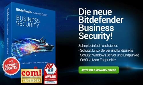 Bitdefender Business-Lösungen