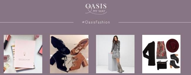 OASIS FASHION GUTSCHEIN