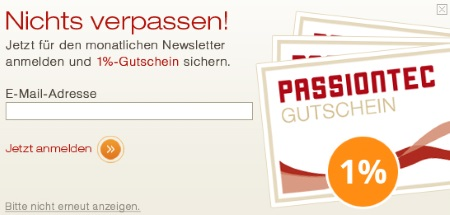 Passiontec Newsletter