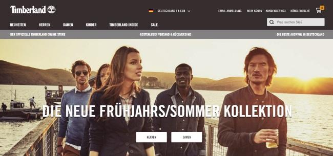 timberland online shop gutschein