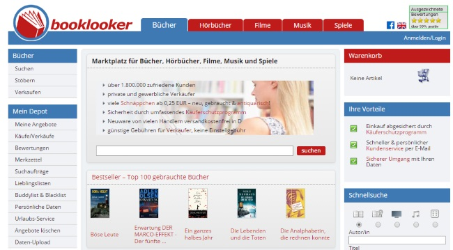 Booklooker Onlineshop