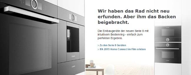 Bosch Einbaugeräte