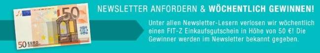 FIT-Z Gutschein Newsletter