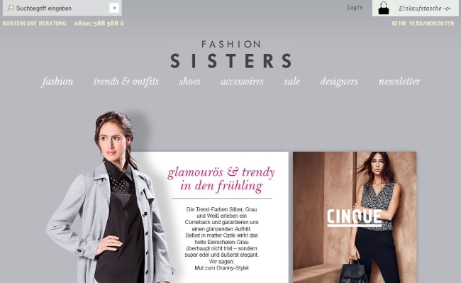 Fashion Sisters Onlineshop