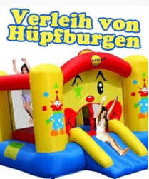 Geburtstagsfee Verleih von Hüpfburgen