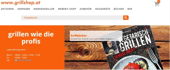 Grillshop.at Onlineshop