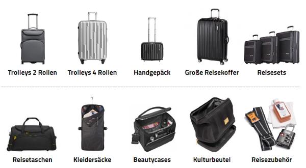 Koffer.de Reisegepäck