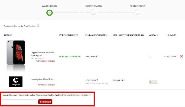 Preisboerse24 Gutschein einlösen