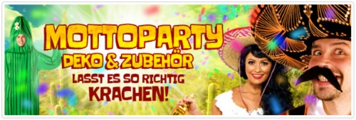 Racheshop Mottoparty