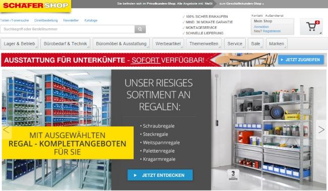 Schäfer Shop Onlineshop