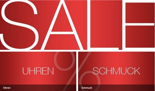 Shop-Juwelier Sale