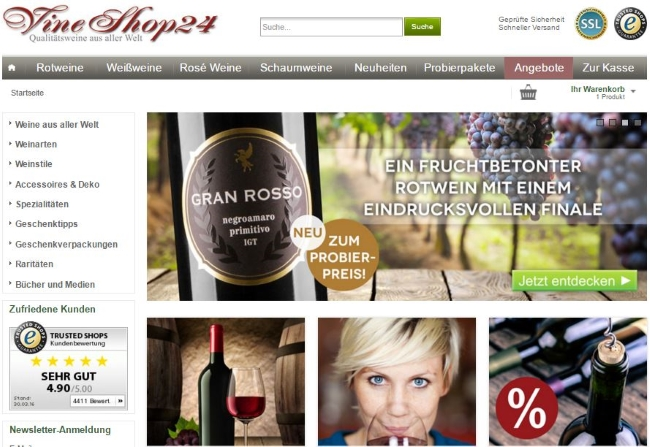 VineShop24 Onlineshop