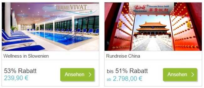 DailyDeal Reise-Deals