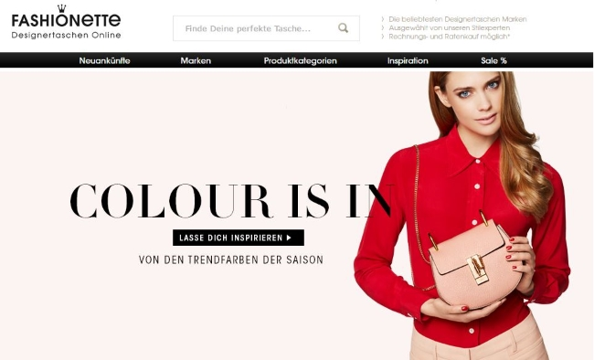 Fashionette Onlineshop