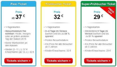 Legoland Frühbucher-Rabatt