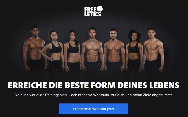 freeletics Onlineshop