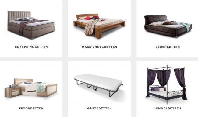 Möbel Eins Betten