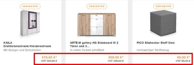 Möbel Eins Sale