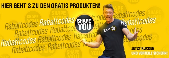 Shape You Rabattcodes