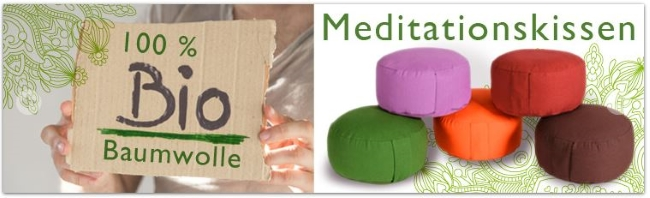 Yogabox Meditationskissen