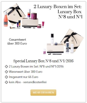 Luxury Box Specials