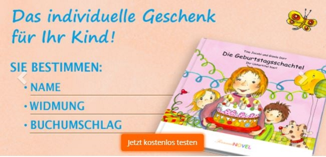 PersonalNOVEL Kinderbücher
