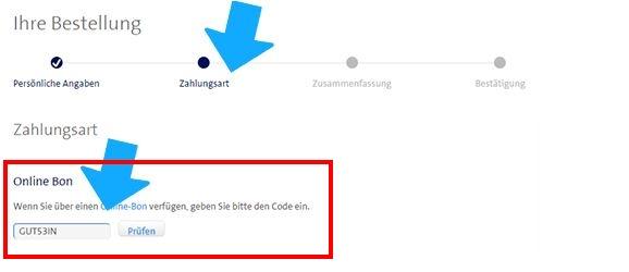 Swisscom Gutschein einlösen