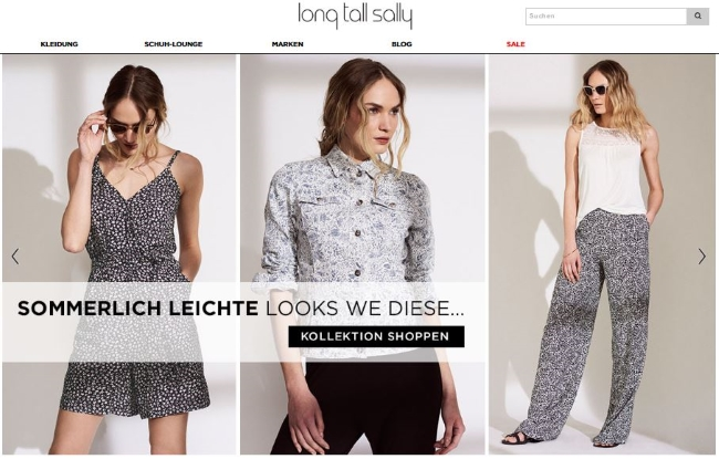 long tall sally Onlineshop
