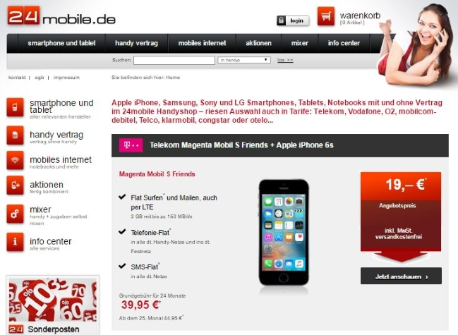 24mobile Onlineshop