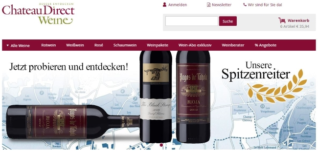 ChateauDirect Onlinestore