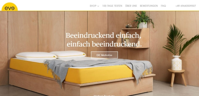 Eve Mattress Onlinestore