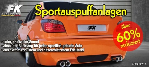 FK Automotive Aktionsangebote