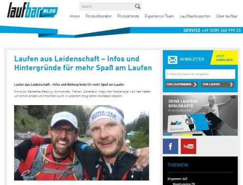 Lauf-Bar Blog