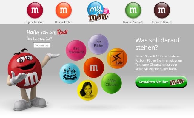 My M-und-Ms Onlineshop