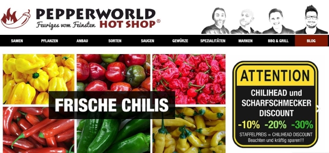 Pepperworld Onlineshop