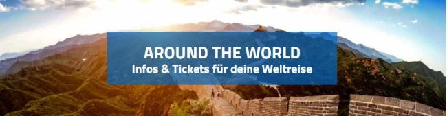 STA Travel Around the World Tickets