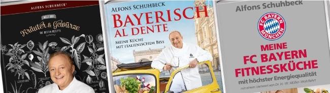 Schuhbeck Kochbücher