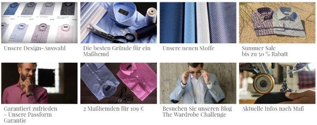 Tailor Store Maßhemden