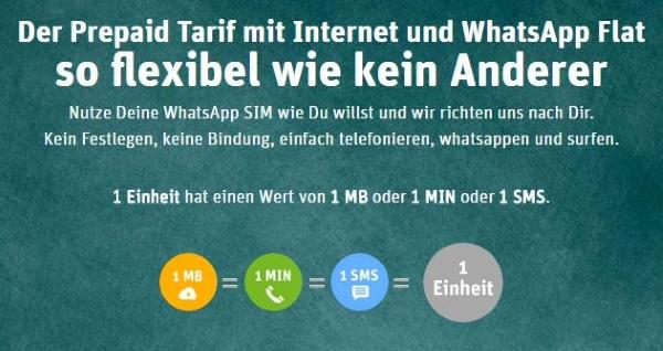 WhatsApp SIM Flexibilität